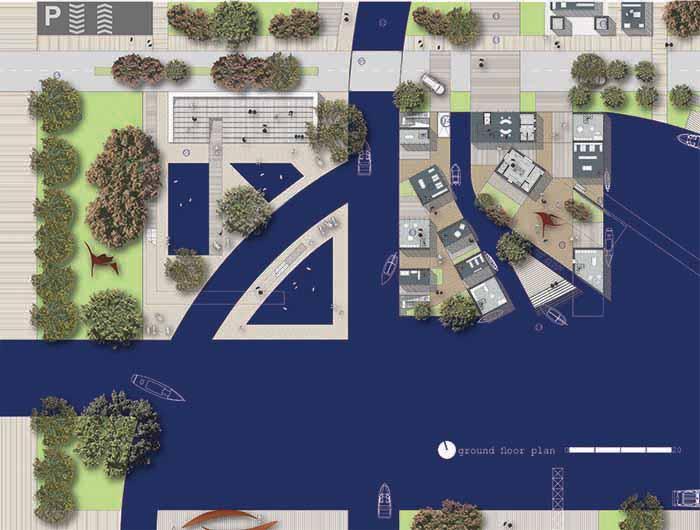 Europan 12, Assen, Square building plan